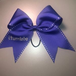 Accessories - Purple itumble Bow